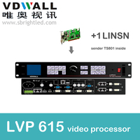 Vdwall Lvp615 And 1 Pc Linsnts802 Video Processor Scaler PRICE Led Video Wall Controller Transmitting Card