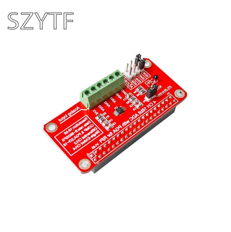 33v Ads1115 Adc Module For Raspberry Pi 3 2 B Or Circuit Diagram Zero I2c Rpi Analog To Digital Converter In Integrated Circuits From