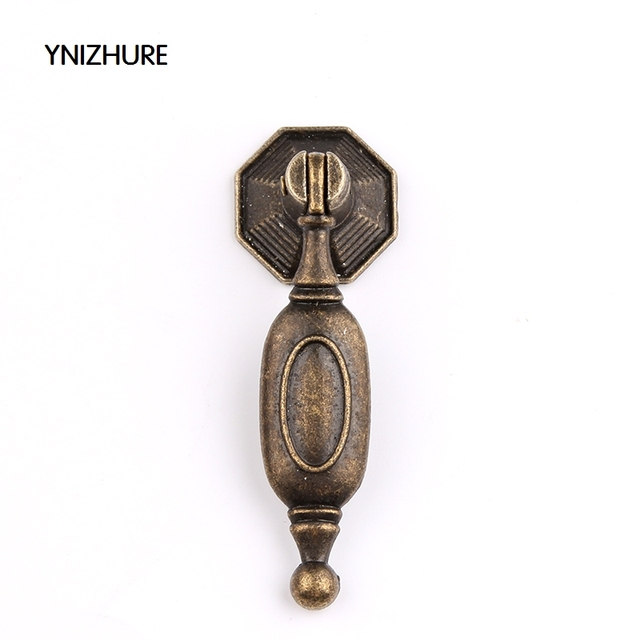 10pcs Retro classical Bronze Znic Alloy Cabinet Pendant Drawer ...