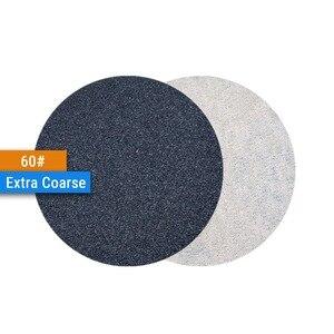 Image 3 - 3 дюйма (75 мм), 60/240/600/1000/5000/10000 Grits, водонепроницаемые шлифовальные диски с липучкой, 3 дюйма, набор ручных шлифовальных дисков для влажной/сухой полировки