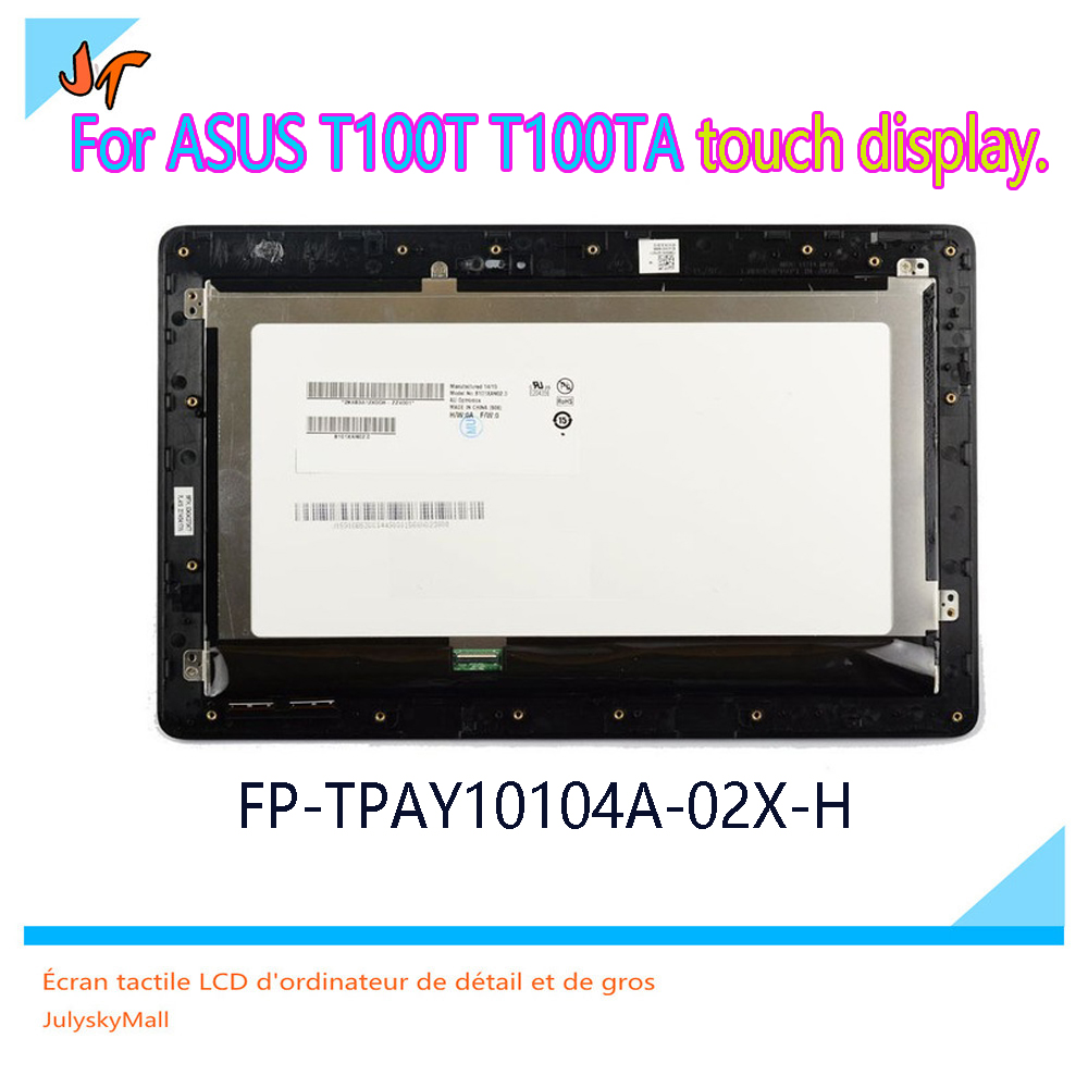 Touch Screen Digitizer For ASUS Transformer Book T100 T100TA FP-TPAY10104A-02X-H