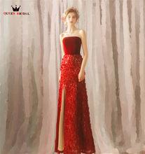 effc0456af3ef Red Strapless Gown Promotion-Shop for Promotional Red Strapless Gown ...