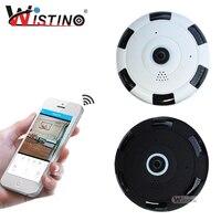 Wistino CCTV Mini Camera HD 960P 360 Degree Full View Wireless IP Camera Network Baby Monitor