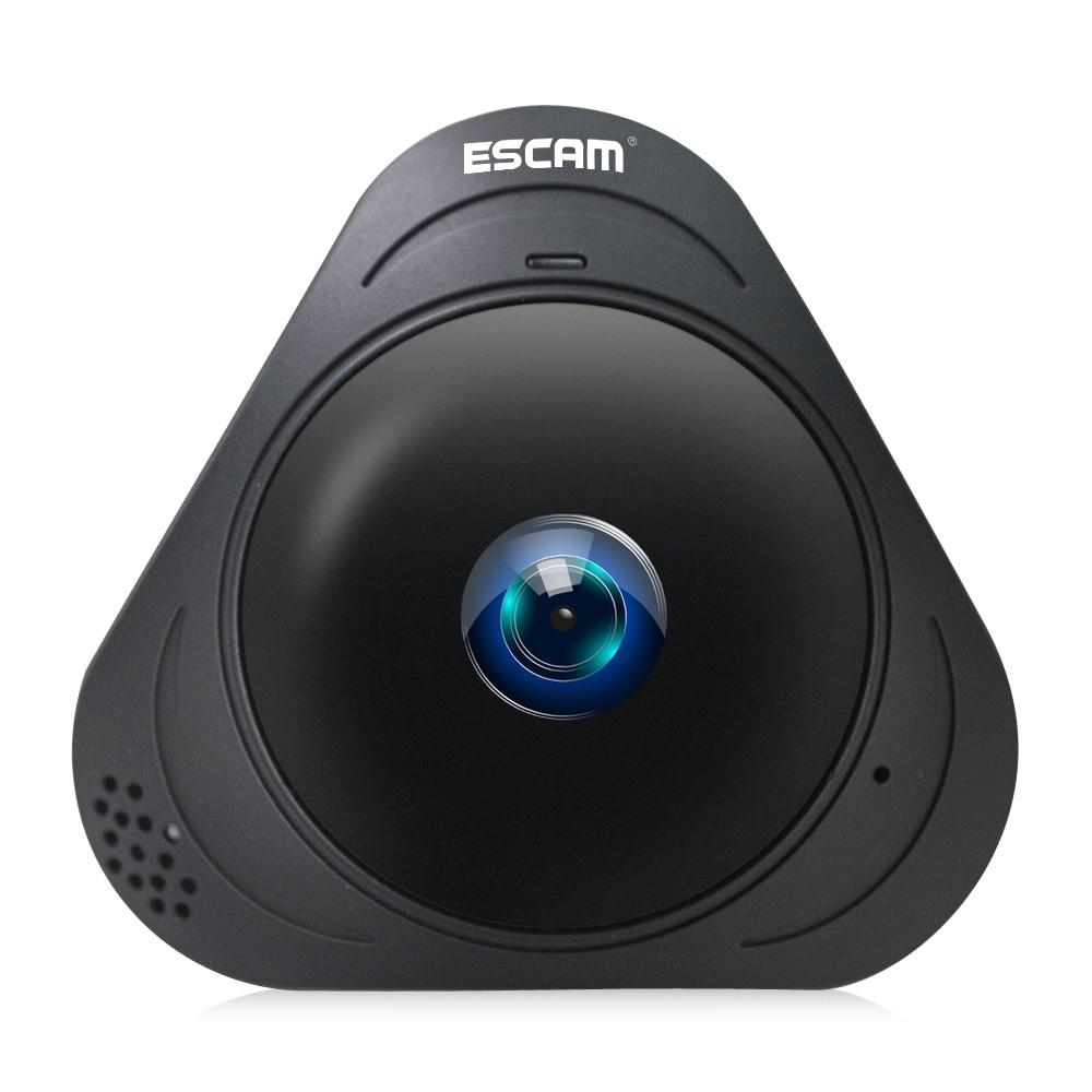 Escam q8 p2p 360 panoramic 960p hd fisheye lens mini wifi - Camera ip wifi exterieur hd ...