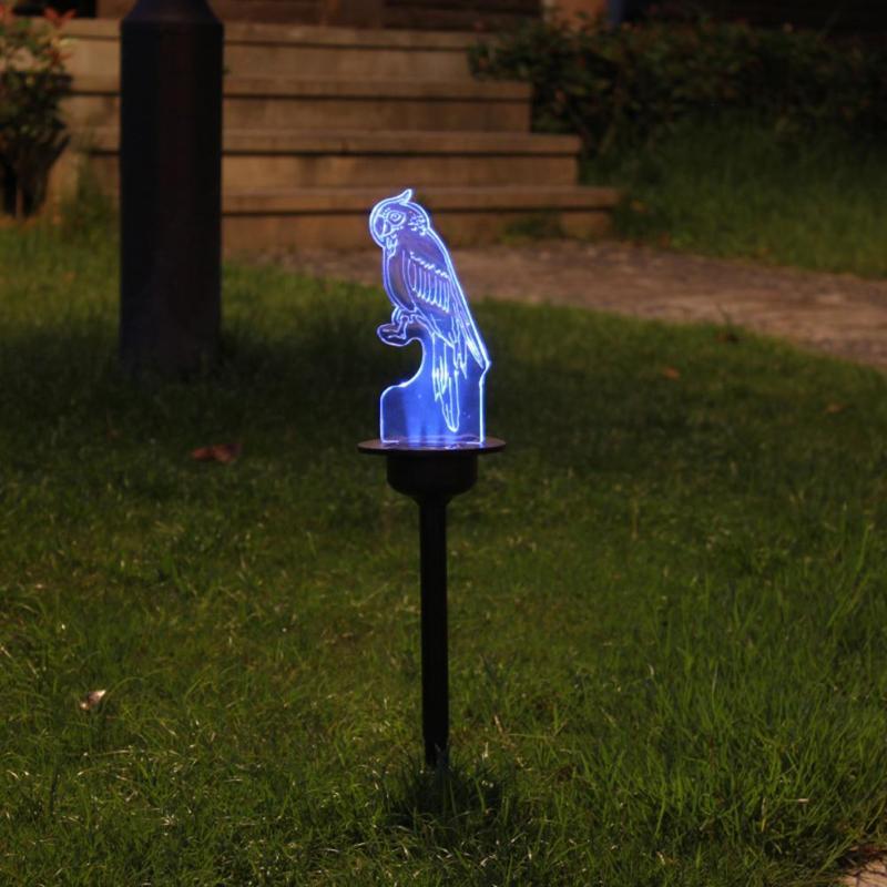 2pcs 3LED Solar Lawn Light Outdoor Waterproof Garden Yard Landscape Lamp Outdoor Garden Path Yard Decoration