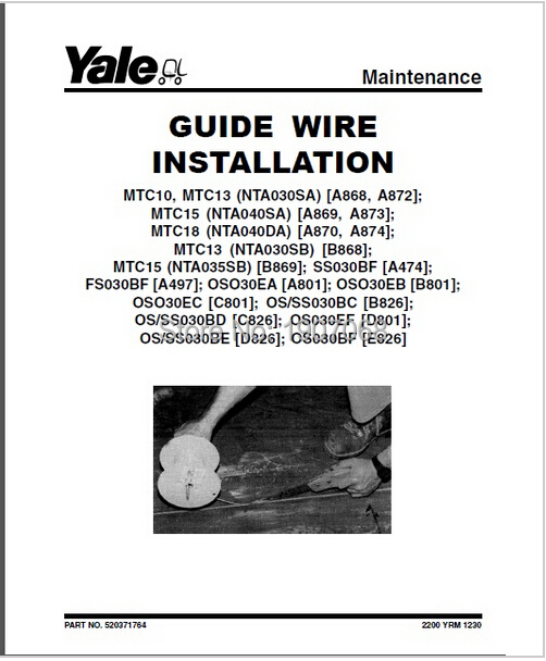 new yale all wiring diagrams and service manuals pdf 2017 full set rh aliexpress com 3-Way Switch Wiring Diagram HVAC Wiring Diagrams