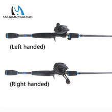 Maximumcatch 2.1M-2.4M Lure Weight 3-80g Portable Travel Bait Casting Rod Left & Right Handed Casting Fishing Rod Reel Combo