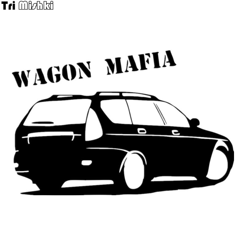 Tri Mishki HZX008 13.1*20см 1-4 шт Наклейка wagon mafia for lada priora universal лада приора универсал наклейки на авто наклейки на автомобиль наклейки на авто