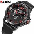 CURREN Moda Relógio de Homens Relógios Top Marca de Luxo Masculino Relógio Dos Homens de Pulso de Quartzo Militar Relógio Do Esporte À Prova D' Água Relogio masculino
