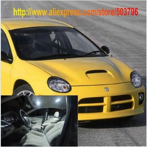 2000 Dodge Neon Interior: Free Shipping 4pcs/lot White Interior LED Lights For Dodge