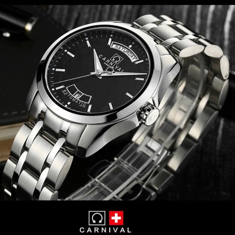Karnavalo aukščiausios kokybės prekės ženklo automatiniai - Vyriški laikrodžiai - Nuotrauka 2