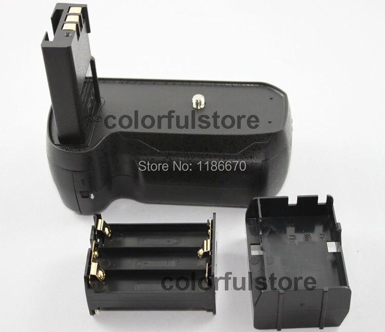 Аккумулятор рука ручка ручка держатель шаг вертикальный мощность затвора для Nikon D40 D40x D60 D3000 D5000 цифровые зеркальные фотокамеры подходит EN-EL9