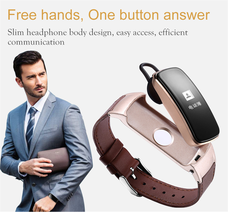 YKSO Bluetooth Smart band With SIM Card  smart bracelet B3 Plus Smart Wristband Heart Rate Monitor Smart band  (3)