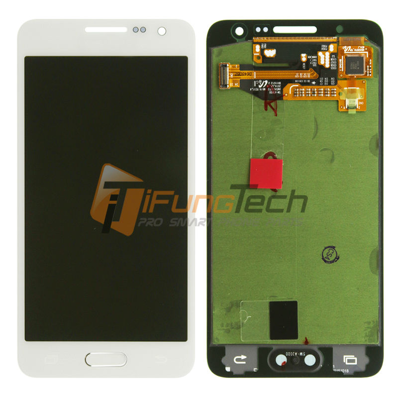 3Pcs Black/White LCD Screen Display with Digitizer Assembly For Samsung Galaxy A3 A3000 A300X,A300,A300H Free DHL Shipping brand new lcd for samsung galaxy a3 a3000 a300 a300x a300f screen display with touch digitizer assembly