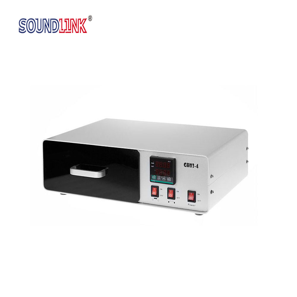 UV Curing Chamber UV Epoxy Curing Unit for Earmolds In ear Monitors Hearing Aids Shell Curing