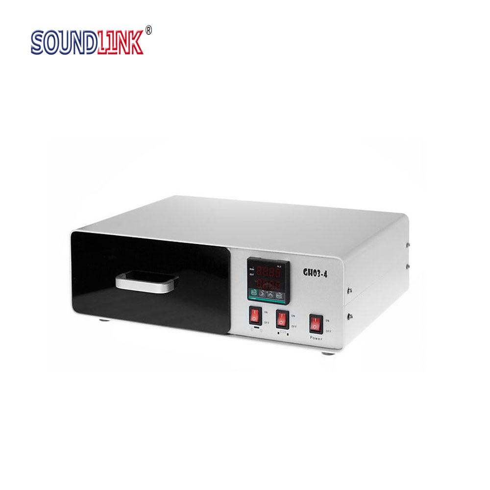 УВ-втвърдяваща камера UV епоксидна втвърдяваща уредба за отливки Ушни монитори Слухови апарати Shell Curing 315-400 nm