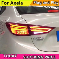 Car Style Tail lamp For Mazda 3 Tail Lights 2014 2018 New Mazda3 Axela LED Tail Light Orignal Design LED Rear Lamp DRL+Brake