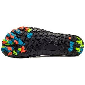 Image 5 - 夏ノンスリップ上流水耐摩耗性裸足5本の指の靴女性男性速乾屋外スニーカー