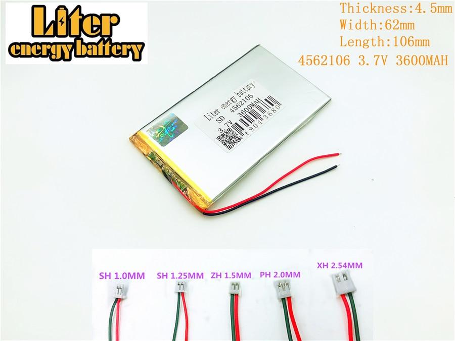 3 7V 4562106 3600mah Lithium polymer battery for font b tablet b font font b pc