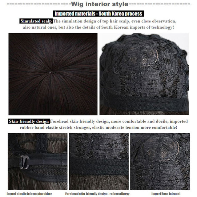 HSIU NEW High quality YoRHa No.2 Type B wig Cosplay Wig NieR:Automata 2B 2E Costume Play Wigs Costumes Hair