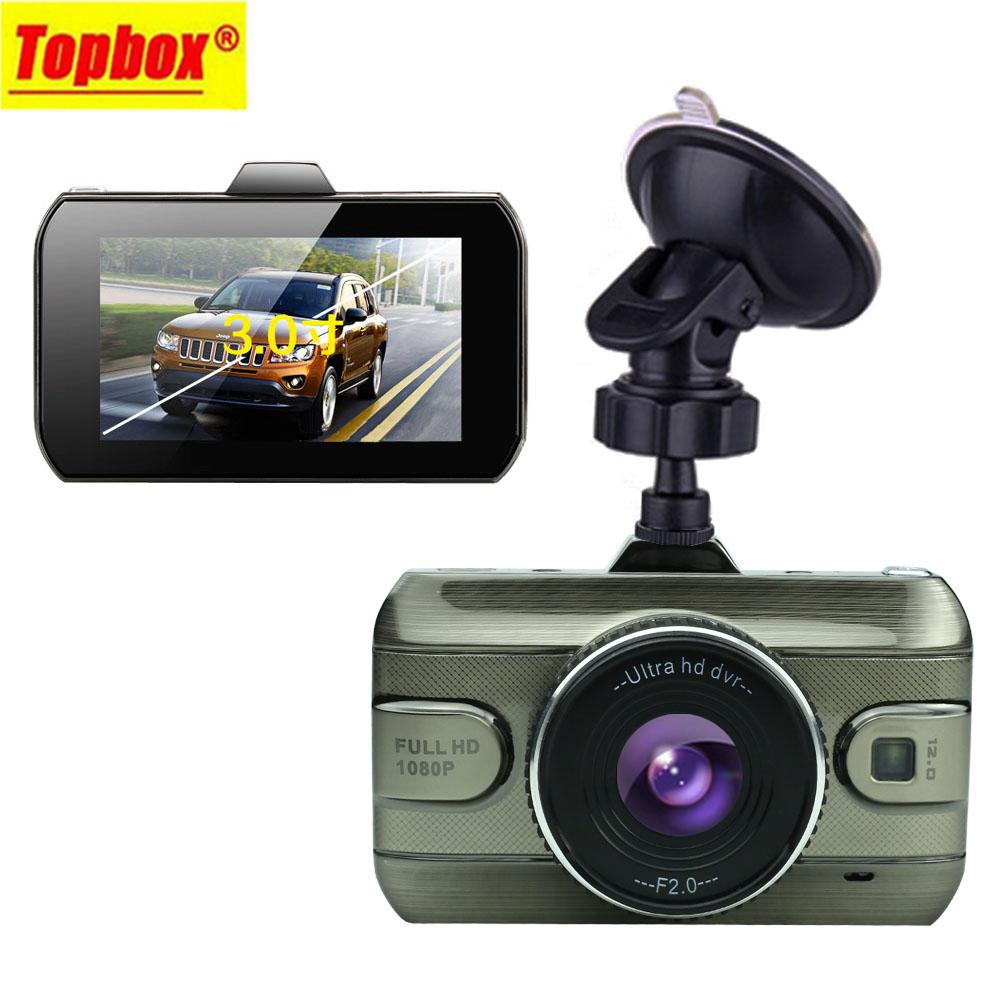 """Prix pour Nouveau 3.0 """"voiture Dvr Caméra Pleine HD1080P Voiture Enregistreur Vidéo 170 degrés Dash Cam g-sensor Night Vision Voiture Caméra DashCam Blackbox"""