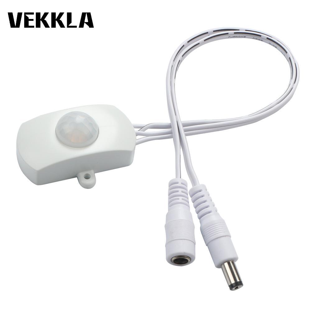 Dc 5v 12v 24v 5a Pir Sensor Switch Mini Pir Infrared Ir