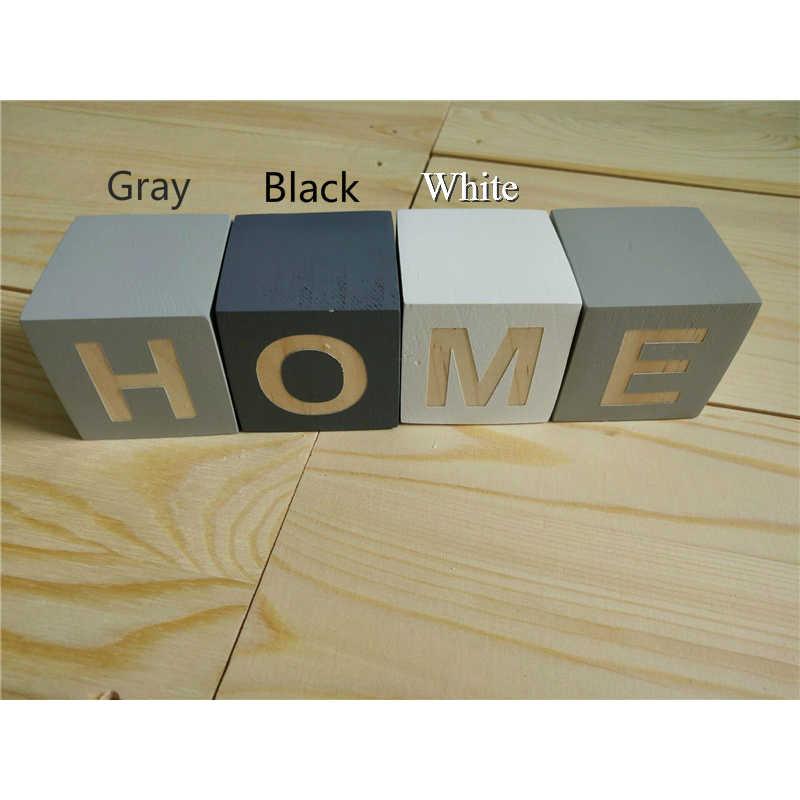 26 Английский деревянный блочный Алфавит ABC буквы головоломки образовательные деревянные блоки Дети Раннее Образование Письмо игра деревянный блок