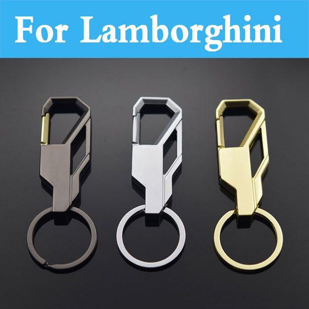 1pcs Metal 13d Car Keychain Key Chain Key Ring For Lamborghini