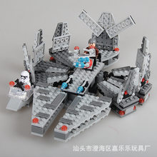 260pcs Star War mini Millennium Falcon Clone Troopers Luke Skywalker Building Block compatible with legoingly(China)