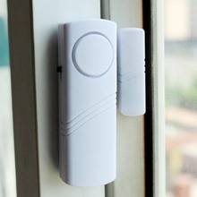 Home Safety Door Window Wireless Burglar Alarm with Magnetic Sensor Wireless Longer System Security Device White Wholesale все цены