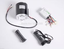 800 Watt 36 Volt Electric Motor Kit With Base Speed Control And Throttle For Electric Scooter