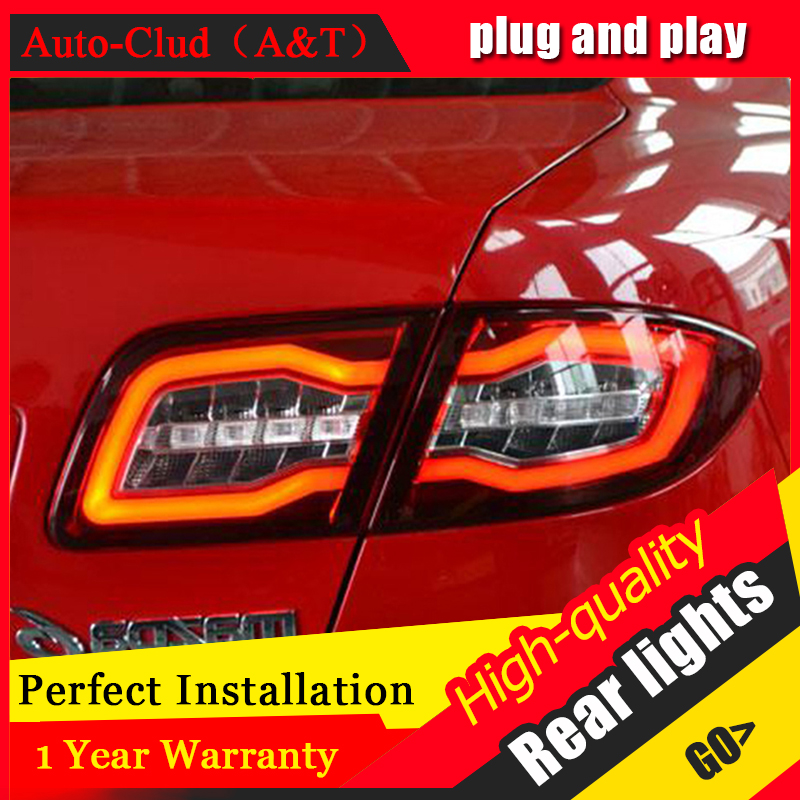Auto Clud Car Styling for Mazda 6 Taillights 2004 2013 Mazda6 Classic LED Tail Lamp Rear Lamp DRL+Brake+Park+Signal led lights.