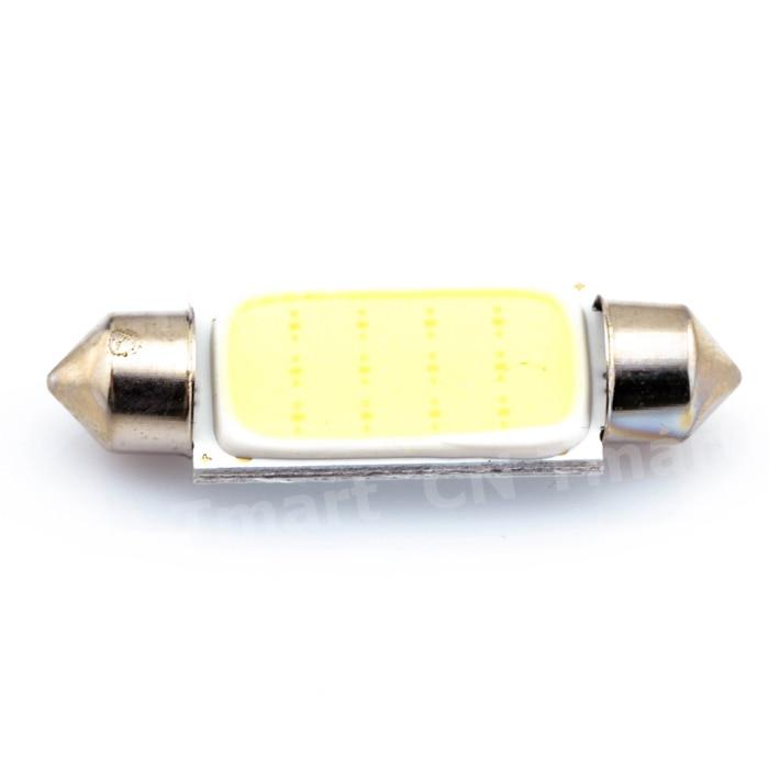 10 шт. 31 мм 36 мм 39 мм 42 мм C5W 12 В автомобиля светодиодная гирлянда света COB 12 фишки авто светодиодные лампы накаливания Автомобильный источник с...