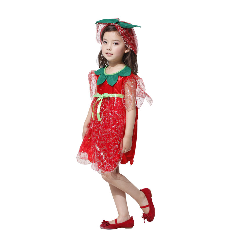 Halloween Childrenu0027s Kids Costumes Performance Clothing Red Rose Fairy Princess Dress Fancy Dress girls for Purim party-in Girls Costumes from Novelty ...  sc 1 st  AliExpress.com & Halloween Childrenu0027s Kids Costumes Performance Clothing Red Rose ...