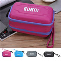 New BUBM double interlayer storage case Organizer bag shockproof portable EVA package for hard drive digital U disk cable