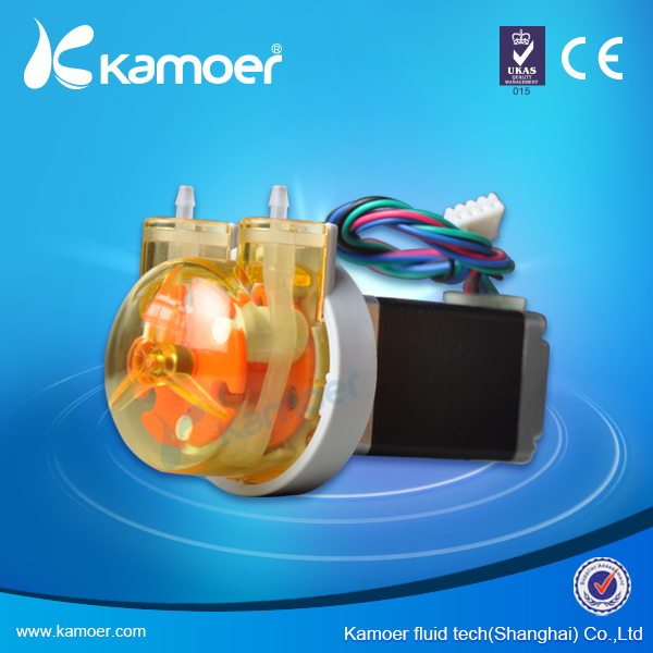 Kamoer KAS Peristaltic Pump 24V Stepper Motor Water Pump (Free Shipping, PCB/PWB Control Support) kamoer kcs mini peristaltic pump stepper motor 24v electric water pump