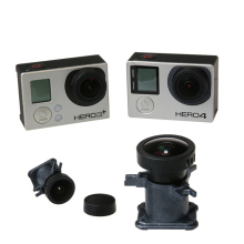 лучшая цена Action Camera Accessories 12Mp Ir Lens For Gopro Hero 4 3 3+ 150 Degree Glass Ultra Wide Angle Lens For Go Pro Replacement Kit