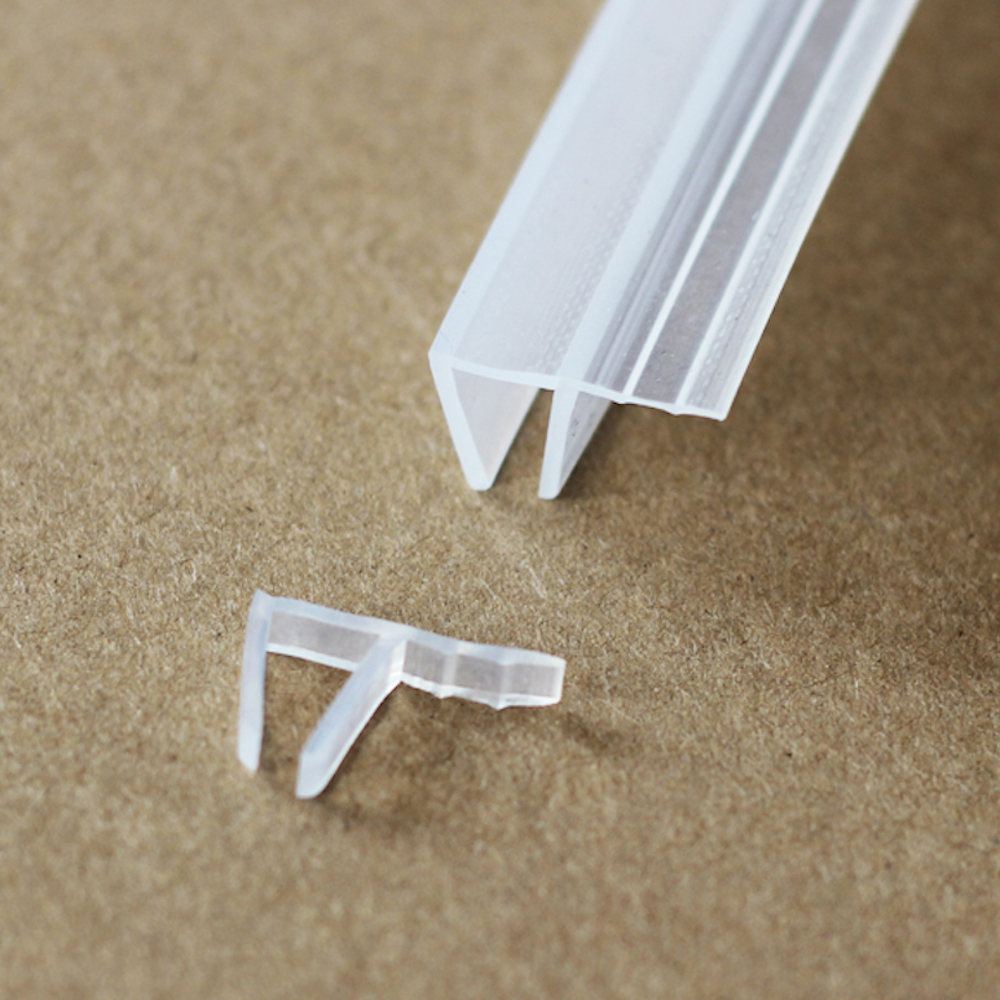 Online buy wholesale sliding glass door seal strip from china weatherstrip draft stopper 6mm glass screen sliding sash shower door window balcony seals draught excluder silicone eventelaan Gallery
