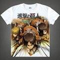 Avançando Giants de Armin Arlert homem de verão de anime bonito vestido de moda t-shirt de um