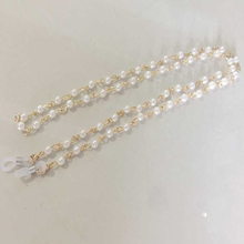 Glasses Chains Fashion Elegant Faux Pearl Beaded Sunglasses Holder Women Eyewear Lanyards graceful faux pearl chains necklace for women