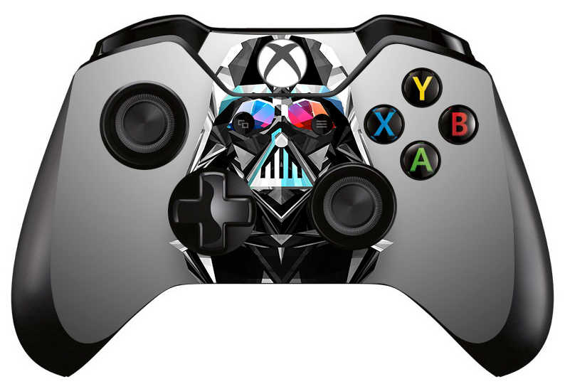 1pc Star Wars Darth Vader Skin Sticker Decal For Xbox one Game Controller Skins Stickers for Xbox one Controller Vinyl