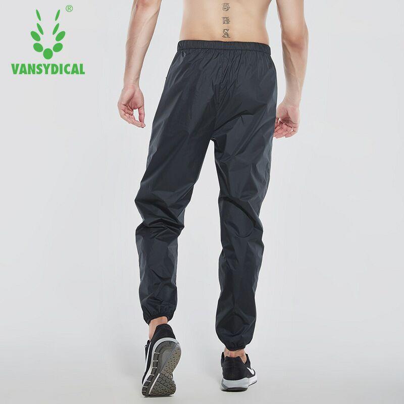 754171e570 Homens Correndo Calças de Fitness Sportswear Vansydical Suar Calças de  Jogging calças de Treinamento de Musculação Ginásio de Esportes Calças À  Prova D  ...