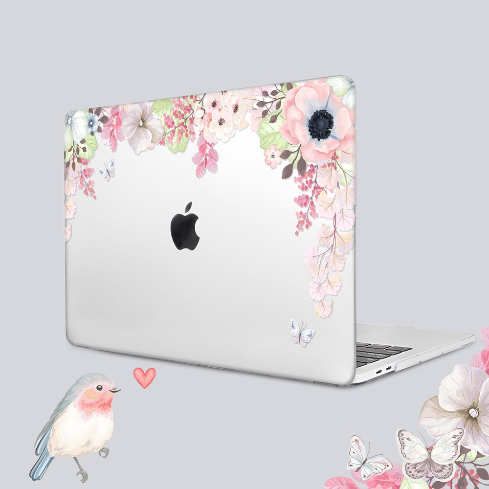 Floral Printing Hard Case for MacBook 116