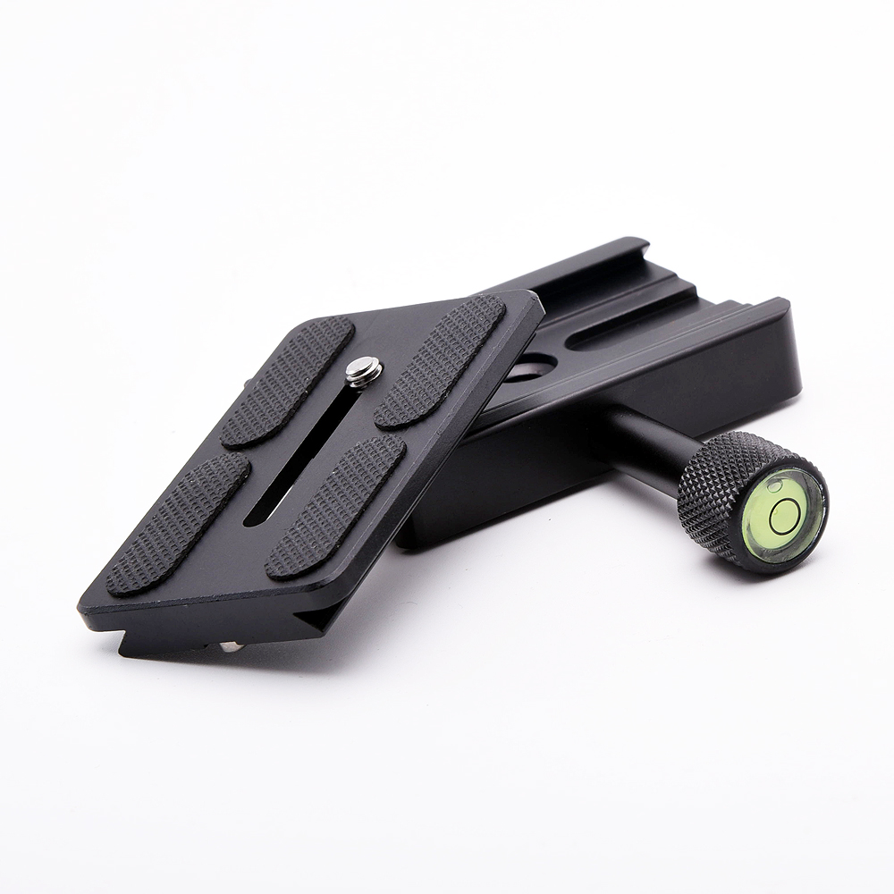 K80 Universal Arca SWISS Clamp & QR Quick Release Plate Support Mount Base for Slide Camera DSLR Monpod Tripod Ball Head
