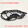 New ABS Wheel Speed Sensor Front Left 89543-02080 For Toyota Corolla 2007- 2012 E140 E150
