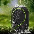 Ruggear powerbank 6600 mah con la linterna llevada para aventuras al aire libre a prueba de agua impermeable banco de la energía