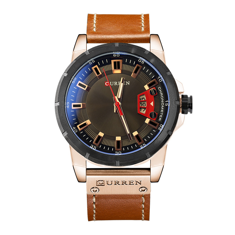 Relogio Masculino Watch Men Brand Luxury Military Quartz Wristwatch Fashion Casual Sport Male Clock Leather Watches CURREN 8284 eyki casual retro vintage watch men women luxury brand quartz dress watches clock leather men s wristwatch relogios masculino