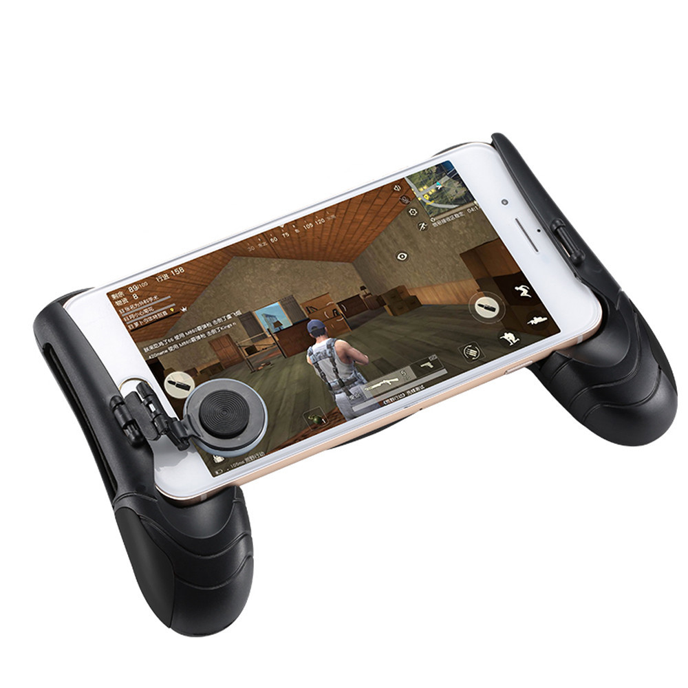For PUBG Game Controller Mobile Joystick Gamepad Ergonomic Design Handle Holder Cell Phone Gaming Adapter Accessories