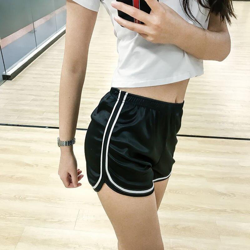 Newly Women Lady High Waist Elastic Shorts Slim Casual For Summer Sport Beach Running BF88