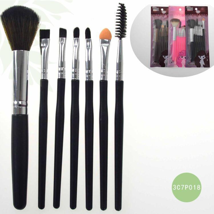 7pcs Meinaiqi Makeup Brushes Foundation Eyebrow Eyeliner Blush